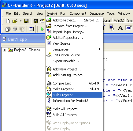 Tutorial On How To Use Borland C Ide To Compile Link