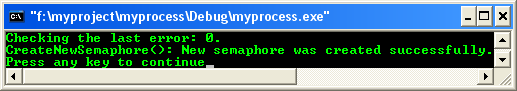 Process & Thread synchronization C program example: Semaphore