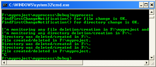Windows Xp Pro and 2000 server family Process & Thread synchronization C program example: Wait objects