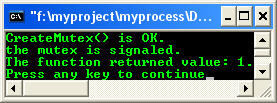 Process & Thread synchronization C program example: More on mutex