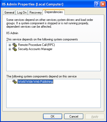 Windows services: Stopping a services program example