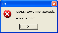 Access is denied lol