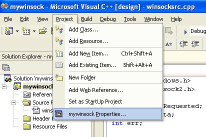 An introduction to Windows socket/Winsock 2/Windows network