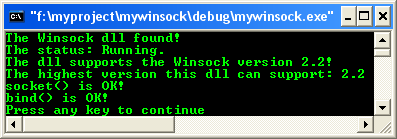 The Windows sockets and Win32 network programming with