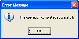 FormatMessage() skeleton program example: message box