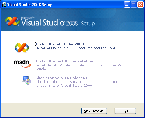 visual studio для windows xp скачать
