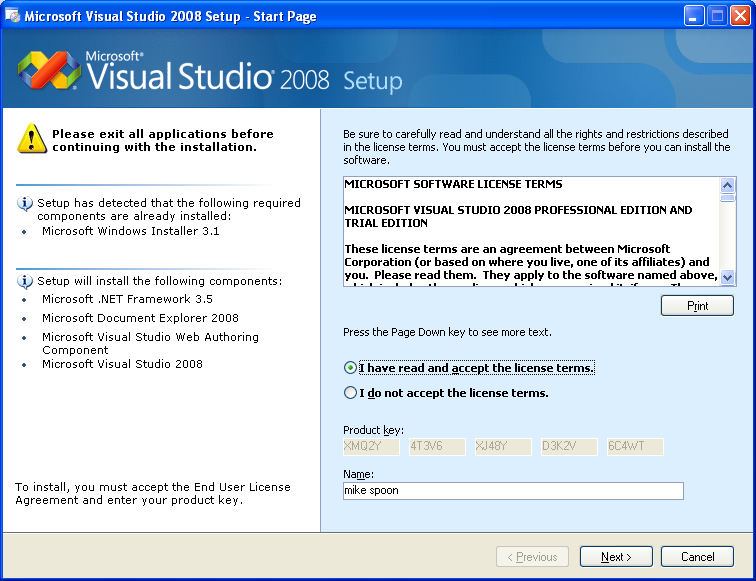 visual basic runtime windows xp