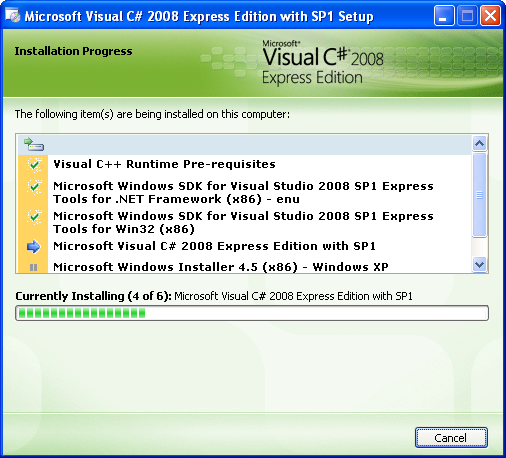 ms visual studio 2008 express edition free download
