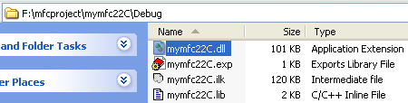 how to create dll file in mfc