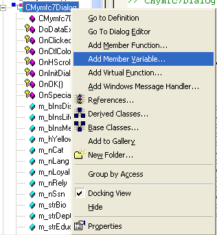 The MFC programming tutorial on the Modal Dialog and Windows Common